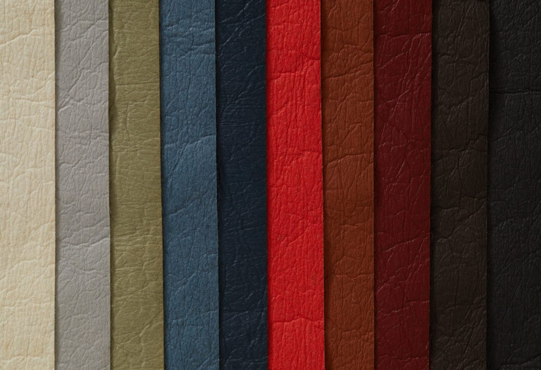 Pinatex Farbvarianten